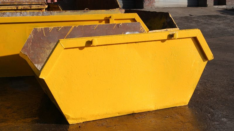 5 steps to book a skip in Chorley