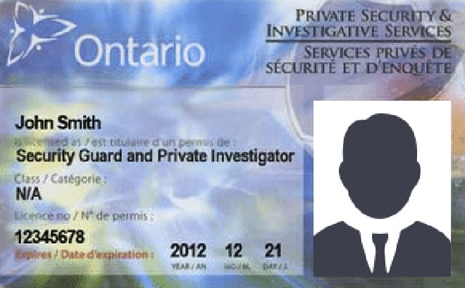 Private Security Guard Licence Requests Administration Disavowal And Reject
