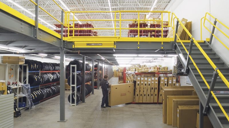 How Modular Mezzanine Floor Helps in Maximizing Space?