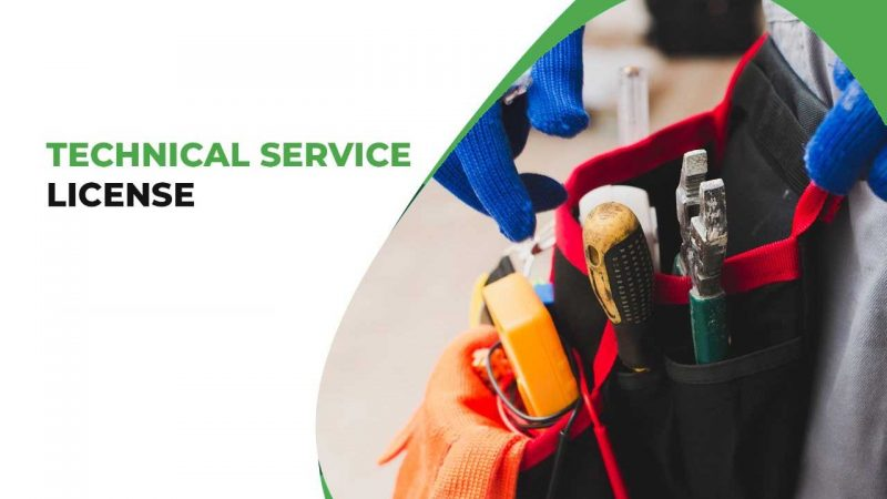 technical services license
